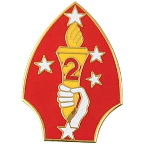 2nd Marine Division Lapel Pin ()