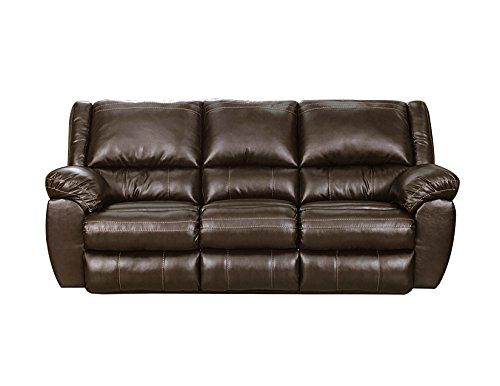 Simmons Upholstery 50433BR-53 Brown Bingo Motion Sofa,