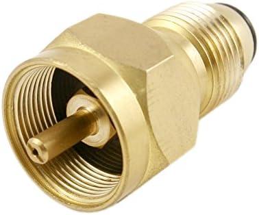 pinty 100% latón propano adaptador de recambio para 450 G pequeño ...