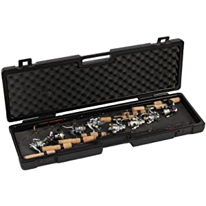Frabill ice rod safe case 36 x 10 x 3 inch for Amazon fishing gear