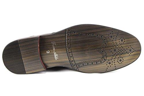 46bb0f812fada Ferro Aldo Men's 19268A Two Tone Saddle Lace Up Oxfords Dress ...