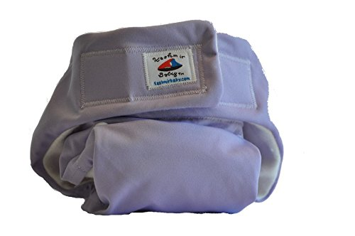 - Kashmir Baby Organic Hemp Pocket Adjustable One Size Cloth Diaper, Washable Reusable Fitted, Girl