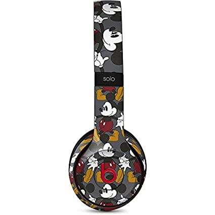 1bc58f7c56a Image Unavailable. Image not available for. Color: Mickey Mouse Beats Solo  3 Wireless Skin ...