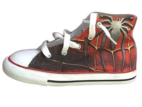 homme Stefano Texture Multicolore pour Natussi Baskets spider qtxwtTF8