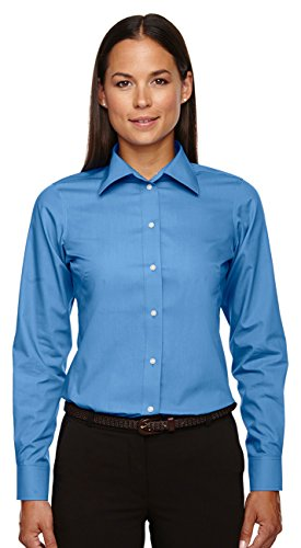 (Devon & Jones Ladies Crown Collection Solid Broadcloth, French Blue, XXX-Large)