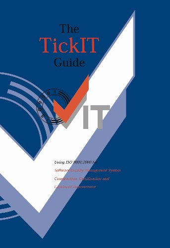 Tickit Guide  5 5  A Guide To Software Quality Management System Construction And Certification To Iso 9001 2000