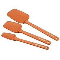 Rachael Ray 51205 Tools & Gadgets Spoonula Set, 3 Piece, Orange