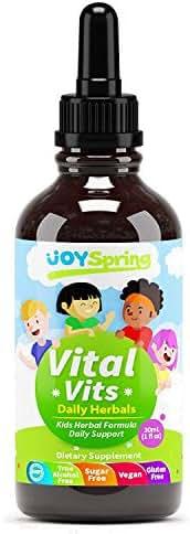 Liquid Vitamins for Kids - Immune System Booster for Kids, Best Immune System Support for Children with Iron, Children's Vitamins, Multivitamins for Kids, Great Tasting Iron for Kids
