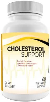 Dr.Colbert's All Naturally Formulated Cholesterol Support - Plus Plant Sterols - Citrus Bergamot - Sytrinol - 30 Day Supply