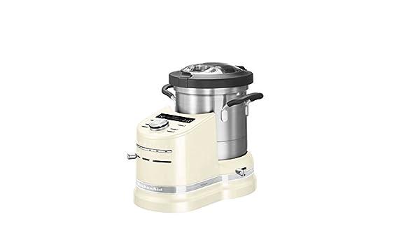 KitchenAid – Artisan 5 kcf0103 Cook Processor préparateur culinario olla todo-en-uno color almendra/crema: Amazon.es: Hogar
