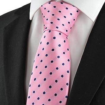 FYios®Nuevos Lunares en Rosa Marina Mens clásico traje corbata ...