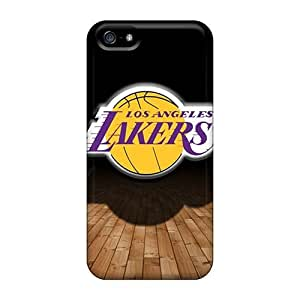 Case For Sumsung Galaxy S4 I9500 Cover Case Bumper PC Skin Cover For Lakers Accessories
