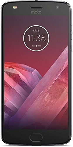 Motorola Moto Z2 Play XT1710-06 (64GB) Dual SIM GSM Factory Unlocked US & Global 4G LTE Bands (No Warranty) includes Moto MODS Battery Pack (Dark Gray)