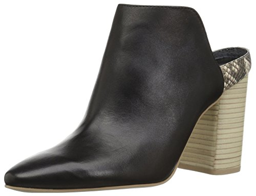 Dolce Vita Women's RENLY Mule, Onyx Leather, 10 M US