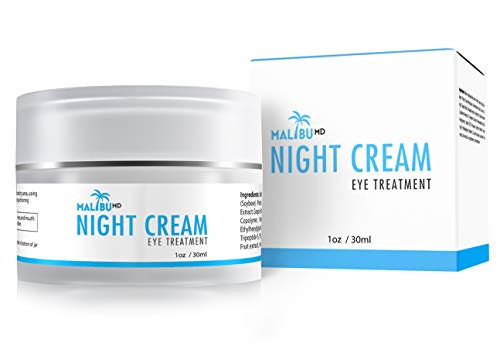 41aWEYVEHuL - Night Cream | Collagen Infused | Anti Aging Serum For Dark Circles, Wrinkles & Puffiness | Non Greasy Moisturizer | With Tripeptide-5 & Aloe Vera To Reduce Fine Lines | Reduce Appearances of Wrinkles