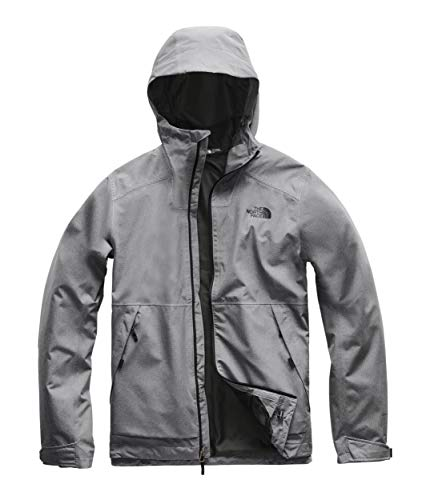 The North Face Men's Millerton Jacket TNF Medium Grey Heather 2 Small (Best North Face Ski Jacket)