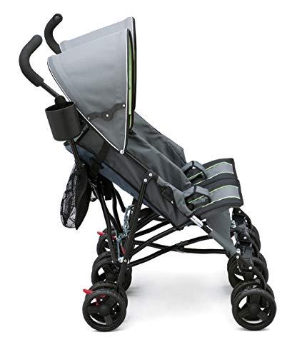 41aWF1vBP4L - Delta Children LX Side By Side Tandem Umbrella Stroller, Lime & Green