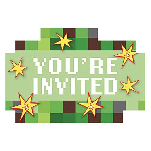 (Amscan TNT Party! Postcard Invitations, Party Favor)
