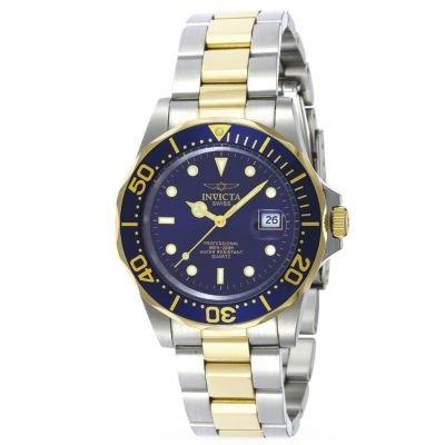 Invicta Men's Pro Diver Swiss Quartz Two-tone Stainless Steel Watch -  J176108
