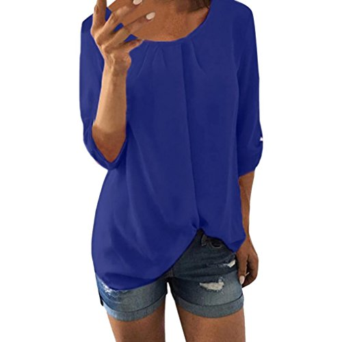 Wintialy women clothes SHIRT レディース US サイズ: XX-Large カラー: ブルー