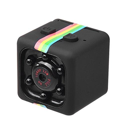 ALLCACA Portable Mini Camera Practical HD Camcorder Mini DV