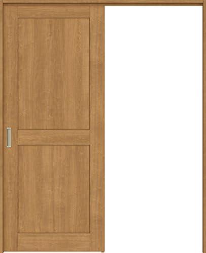 ラシッサS 上吊引戸 片引戸標準 ASUK-LWA 1620J 錠付 W:1,644mm × H:2,023mm ノンケーシング 本体/枠色:クリエダーク(DD) 勝手:左勝手 枠種類:95mm幅(ノンケーシング枠) 引手(シャインニッケル) 床見切り:なし 機能:ブレーキ プッシュ錠:表示錠(シャインニッケル) 錠加工位置:標準位置 LIXIL リクシル TOSTEM トステム