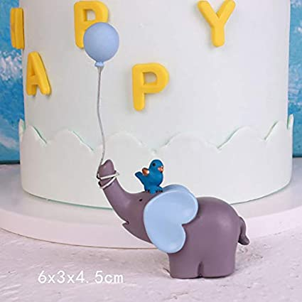 Elephant Gift Box - Lovely Elephant Balloon Lollipop Gifts Blue Pink Quot Happy Collection Cake Per