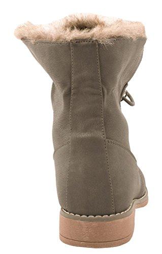 Elara Women's Biker Boots Grey gllYLze6XA