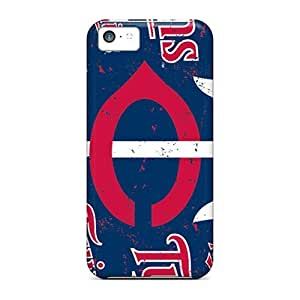 Dana Lindsey Mendez Case For Iphone 5/5S Cover Hybrid PC Silicon Bumper Minnesota Twins