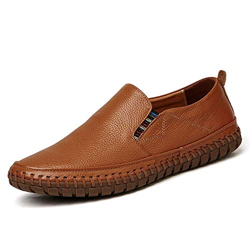 Big Size Men Genuine Leather Shoes Slip On Shoes Real Leather Loafers Mens Moccasins Shoes Shoes,6MUS,Z on GS -