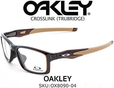 d84a7e5cbab Oakley CROSSLINK® (TRUBRIDGE™) OX8090-0453 Polished Root Beer Sports  Eyeglasses for. Loading images.