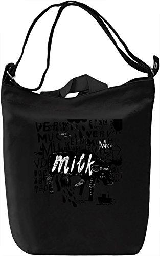 Milk rain Borsa Giornaliera Canvas Canvas Day Bag| 100% Premium Cotton Canvas| DTG Printing|