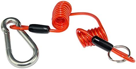 SmallBing 4 Foot Breakaway Cable for RV Trailer Emergency Safety Cable for RV Towing Caravan (4ft Without pin)