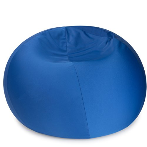 "Dash Sensations Blue Bean Bag Chair for Kids with Removable Machine Washable Cover - Tactile and Sensory for Sitting, Lounging and Playing - 18'' x 15'' (60"" Circumference) – by by Dash Sensations"