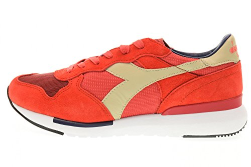 DIADORA man low sneakers 01 201.171864 C6689 TRIDENT EVO Red 0C7vRD