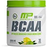 MusclePharm BCAA Powder, 6 Grams of BCAAs Amino Acids, Post Workout Recovery Drink for Muscle Recovery and Muscle Building, Lemon Lime, 30 Servings