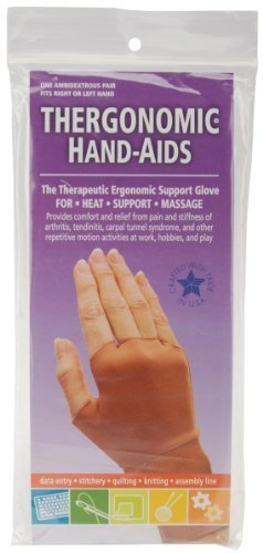 Thergonomic Hand-Aids Support Gloves, Extra Large by Thergonomic