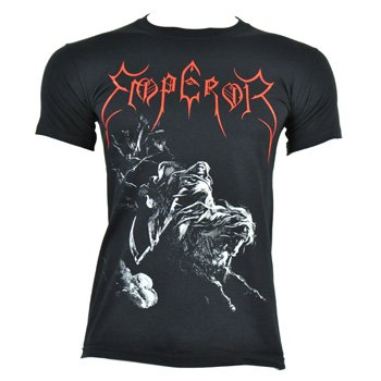 Emperor Men's Rider T Shirt - Small, - Uk Black Metal