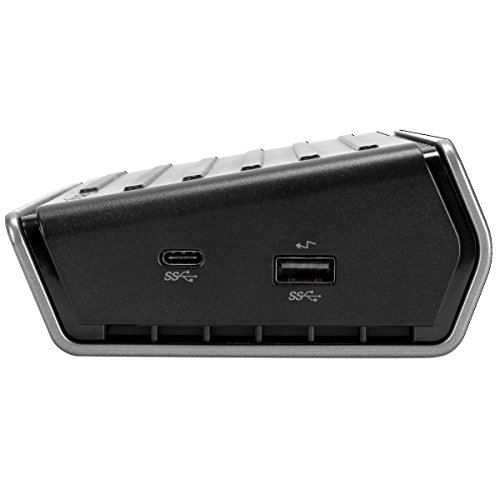 Targus Universal USB-C Dual Video Laptop Docking Station with Charging Power, Audio, & 3 USB 3.0 Ports for PC, Mac, & Android (DOCK410USZ) by Targus (Image #3)