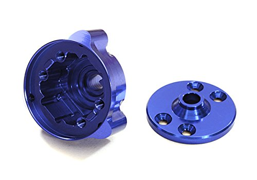 Traxxas Center Differential - Integy RC Model Hop-ups C27466BLUE Machined Center Differential Housing for Traxxas (6884) Stampede 4X4 & Slash 4X4