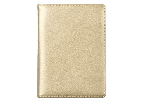 (Kelly Ventura for Blue Sky 2019-2020 Academic Year Weekly & Monthly Planner, Faux Leather Cover, Gold-Tone Twin-Wire Binding, 5