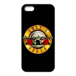 Guns And Roses Design Solid Rubber Customized Cover Case for iPhone 6 4.7 6 4.7 6 4.7-linda6 4.719