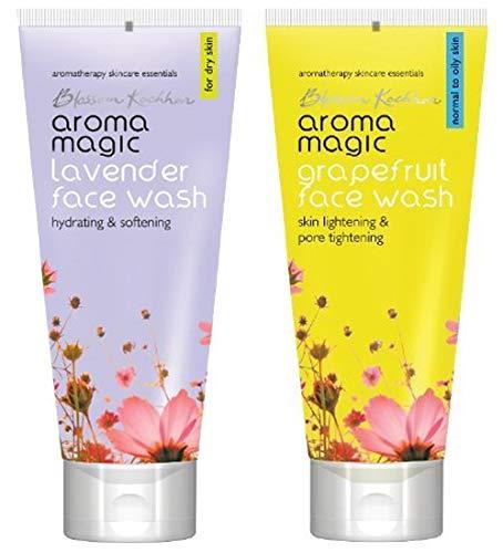 Aroma Magic Face Wash 100 ml  Lavender  And Aroma Magic Grapefruit Face Wash, 100ml