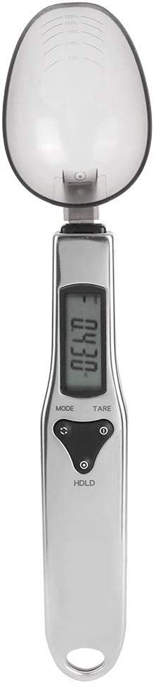 500g/0.1g Scale Food Spoon Scale Household Kitchen Mini Electronic Spoon Scale Food Weighting Scales with LCD Display