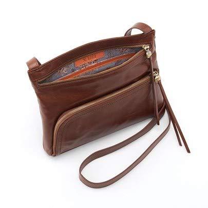 Hobo Womens Genuine Leather Vintage Cassie Crossbody Bag (Woodlands)