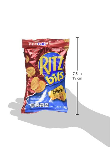 Nabisco Ritz Bits Cheese Sandwich, 3-Ounce Pouches (Pack of 36)