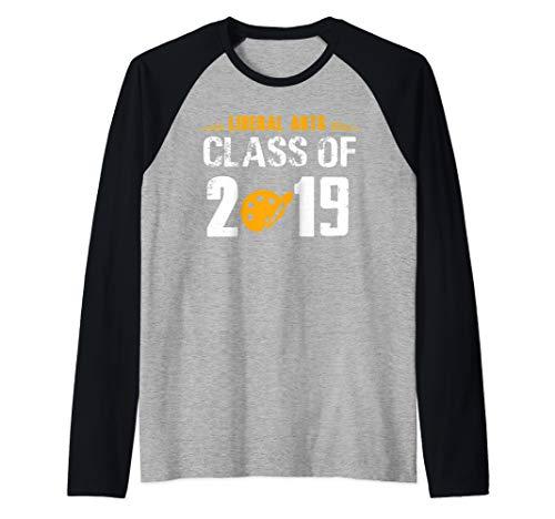 2019 Liberal Arts Graduation Gift Liberal Arts Major Raglan Baseball Tee