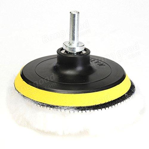 6pcs 4 Inch High Gross Car Polisher Polishing Polish Buffer Clean Waxing Pads Se