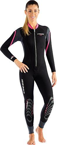 Cressi Lady Front-Zip Full Wetsuit for Water Activities | Bahia & new Bahia Flex