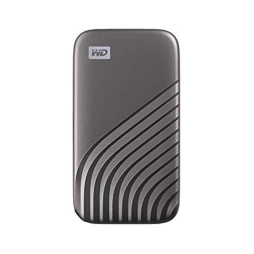 chollos oferta descuentos barato WD My Passport SSD 2TB tecnología NVMe USB C velocidad de lectura hasta 1050MB s de escritura hasta 1000MB s Gris